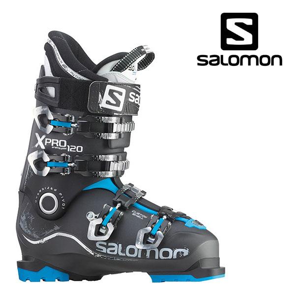 살로몬 스키부츠SALOMON X PRO 120 ANTH/BK/BLUE