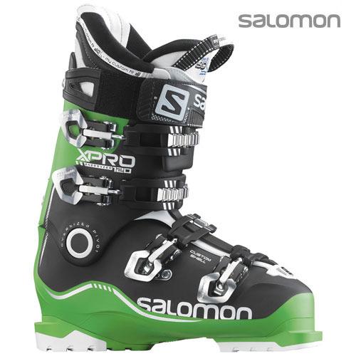 살로몬 엑스프로 스키 부츠salomon X PRO 120 Green/BLACK/WH