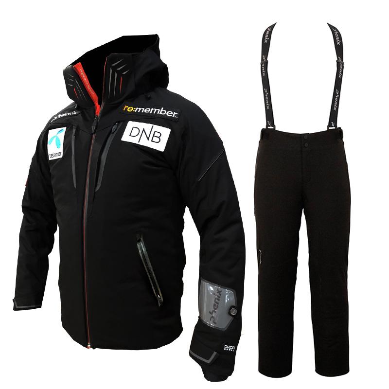 피닉스 1718 노르웨이팀 스키복PHENIX SMU NORWAY TEAM BK JACKET+PANTS PS772OT35 PS772OB34