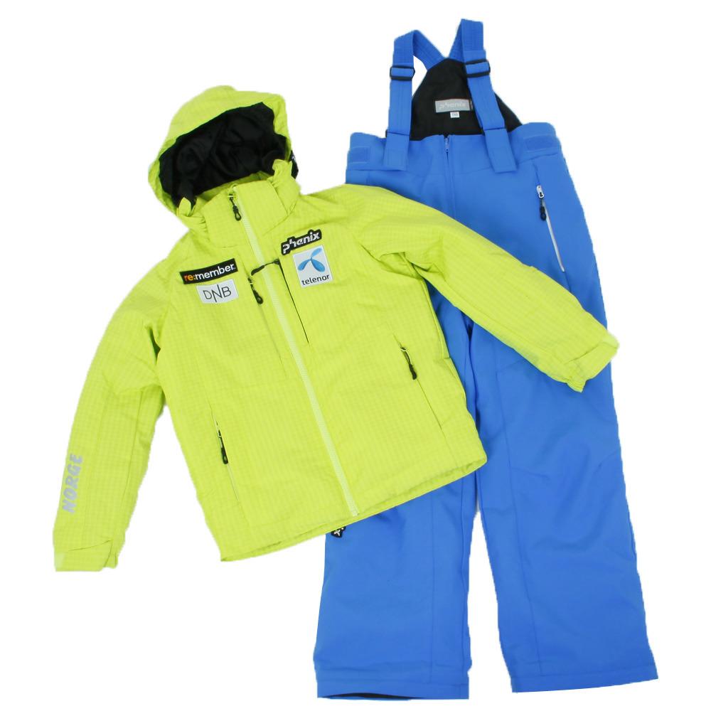피닉스 1718 노르웨이 아동 스키복PHENIX NORWAY TEAM BOY`S TWO-PIECE LIM PS7G22P80