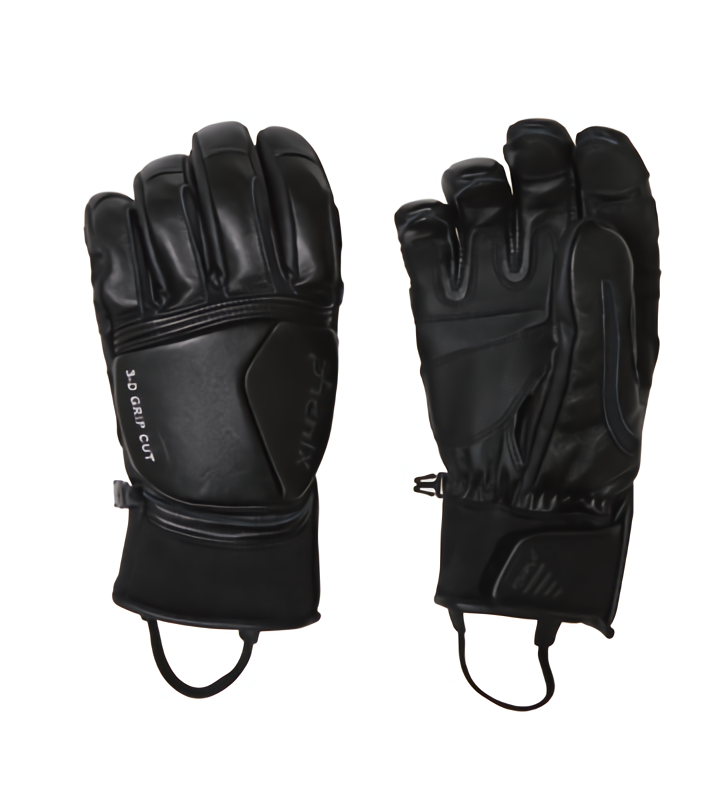 1718 피닉스 스키장갑phenix Formula Leather Gloves bk PF778GL01