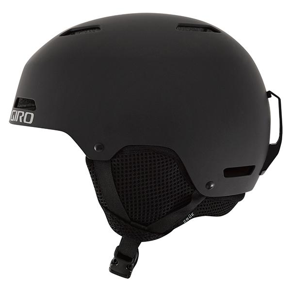 지로 1718 아동 큐어 헬멧 아시안핏GIRO CRÜE MATTE BLACK