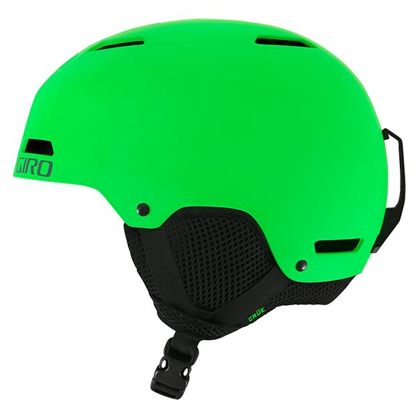 지로 1718 아동 큐어 헬멧 아시안핏GIRO CRÜE MATTE BRIGHT GREEN