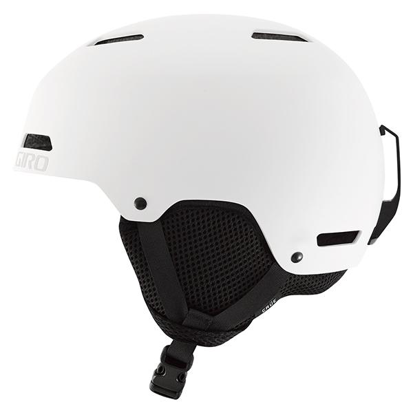 지로 1718 아동 큐어 헬멧 아시안핏GIRO CRÜE MATTE WHITE