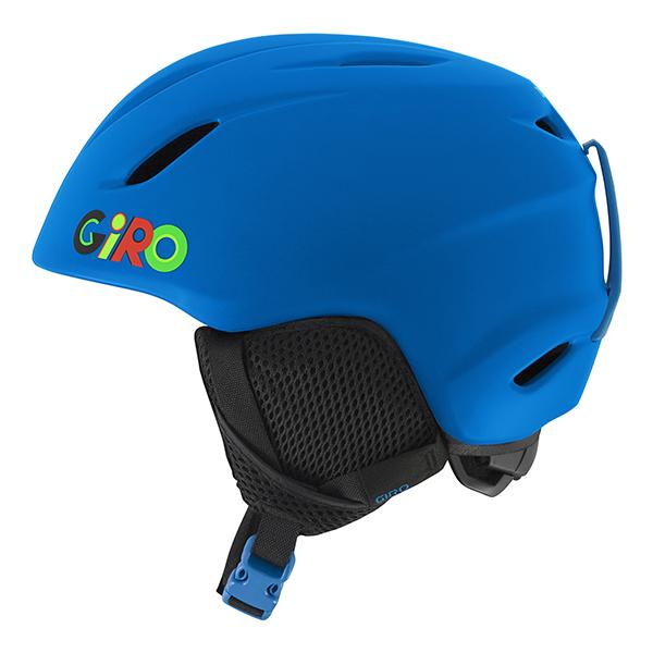 지로 1718 아동 런치 헬멧 아시안핏GIRO LAUNCH MATTE BLUE WILD