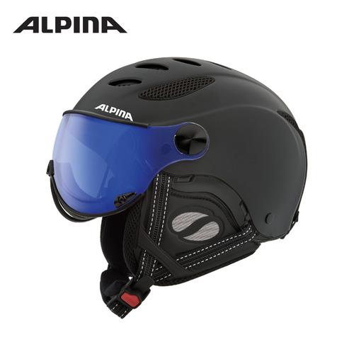 알피나 1718 스키 바이저 헬멧ALPINA _JUMP JV VHM_black matt