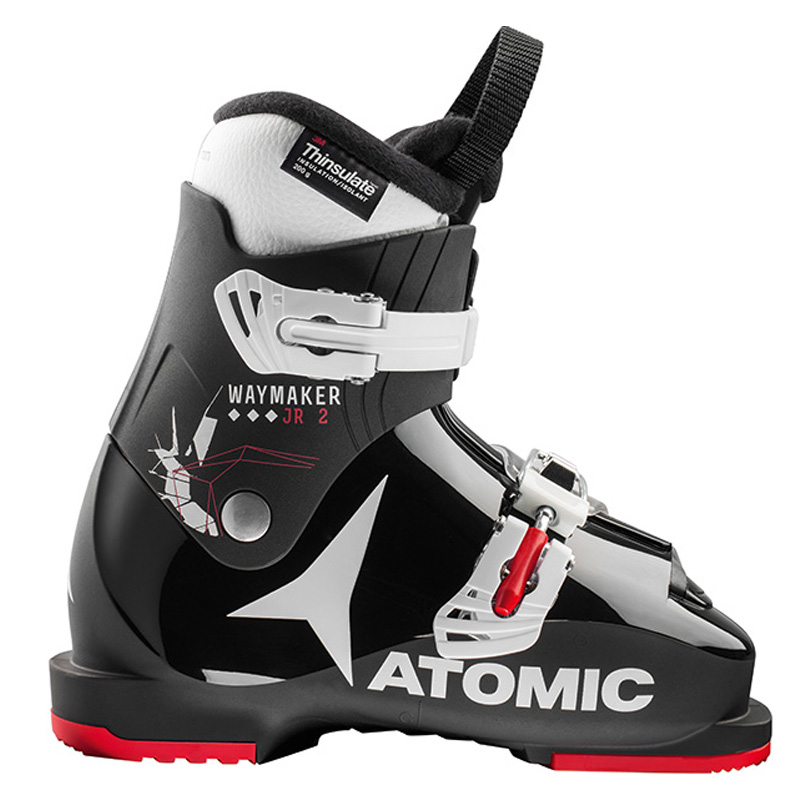 아토믹 1718 스키 아동 부츠ATOMIC KIDS WAYMAKER JR 2 Black/White/Red
