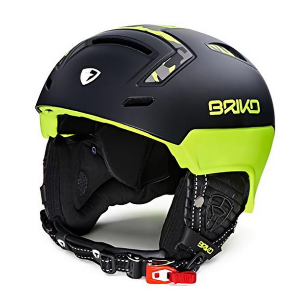 브리코 1718 스키 헬멧BRIKO STROMBOLI MATT FLUO YELLOW CAMO
