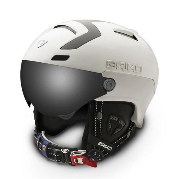 브리코 1718 스키 헬멧BRIKO STROMBOLI VISOR PHOTO MATT WHITE