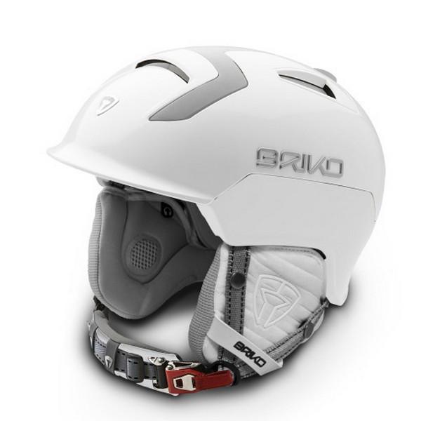 브리코 1718 스키 헬멧BRIKO MONGIBELLO MATT WHITE ASH
