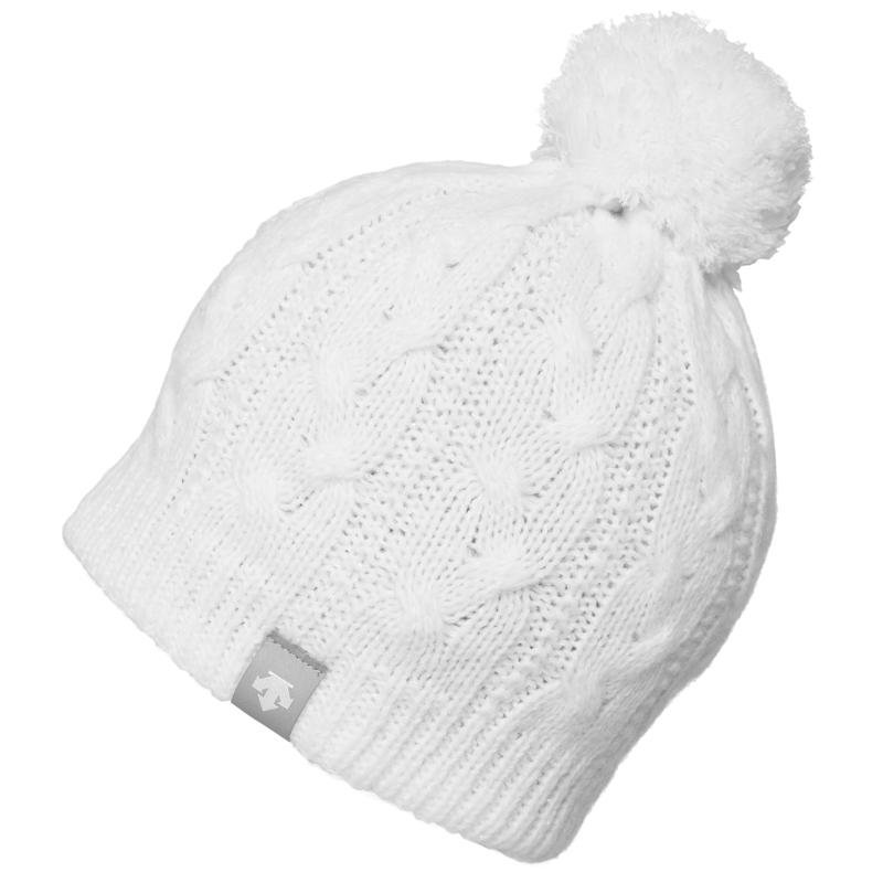 데상트 1718 해드웨어 비니DESCENTE D8-0086W (SNOW) SPW