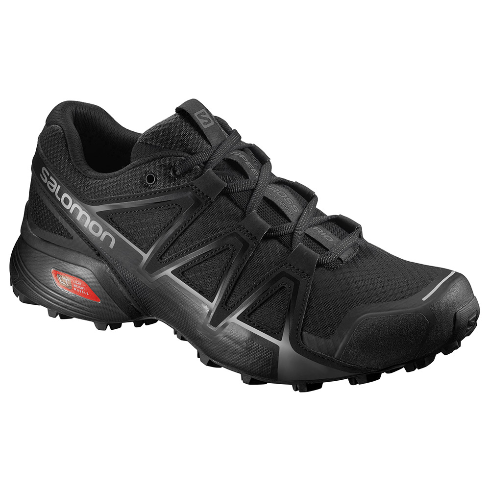 살로몬 SS18 스피드크로스 바리오 2 MSALOMON SPEEDCROSS VARIO 2 Black/Black/SI