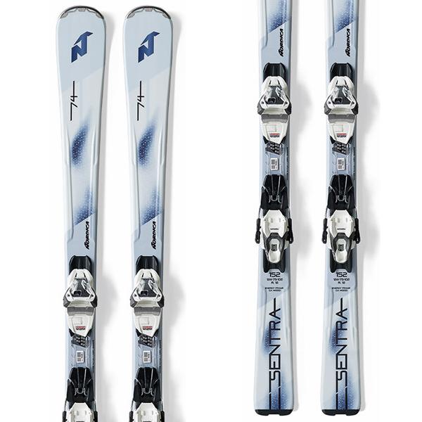 노르디카 1718 스키NORDICA SENTRA 74 FDT + TLT 10 FDT WHITE/BLUE