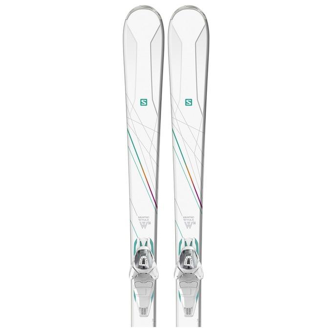 살로몬 1718 여성용 스키SALOMON W-MAX 4 + Lithium 10 W