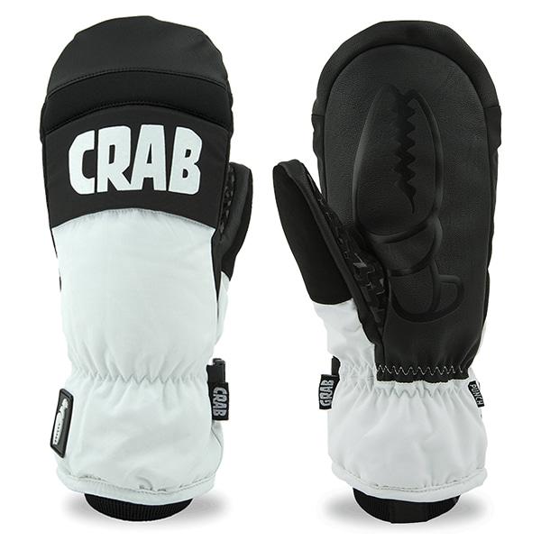 크랩그랩 1718 스노우보드 장갑CRAB GRAB Punch Mitt White