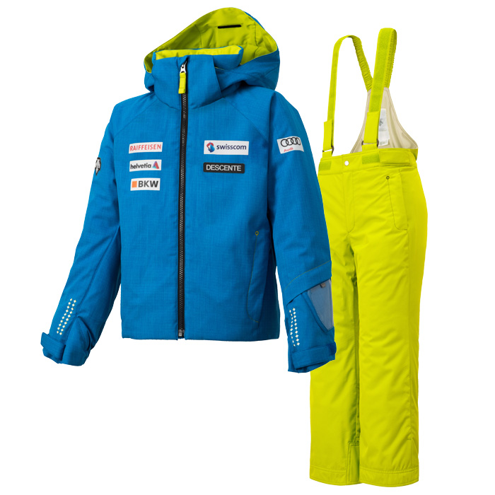 데상트 1819 아동 스키복DESCENTE JUNIOR SUIT SWISS REPLICA ABL DWJMGH03D 60