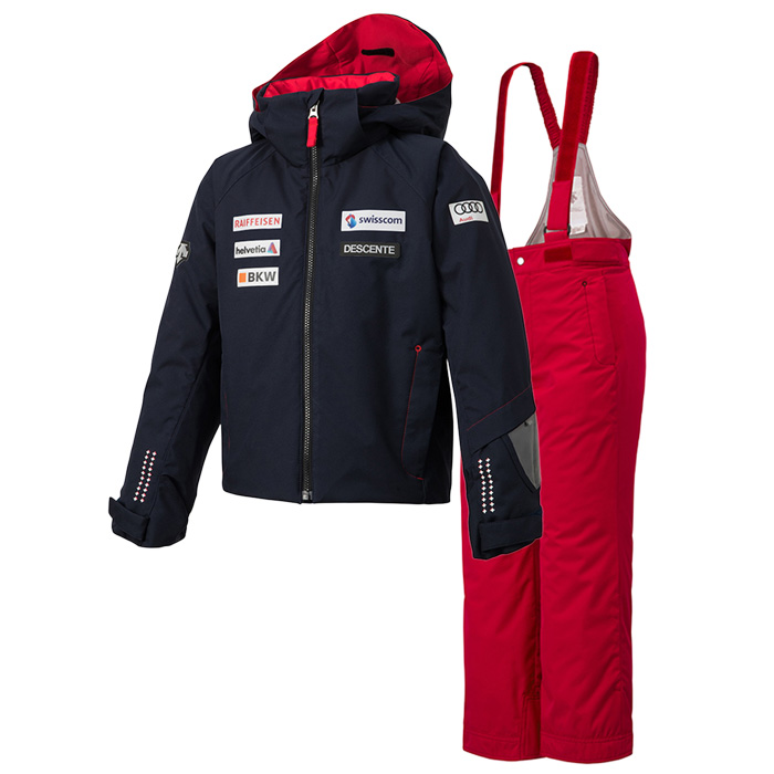 데상트 1819 아동 스키복DESCENTE JUNIOR SUIT SWISS REPLICA SNY DWJMGH03D 69
