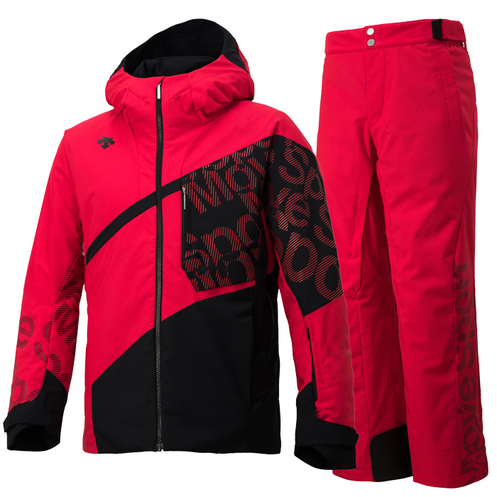 데상트 1819 남성 스키복DESCENTE S.I.O JACKET 60 MOVE SPORTS ERD+S.I.O PANTS 40 MOVE SPORTS ERD DWMMJK71/DWMMJD70