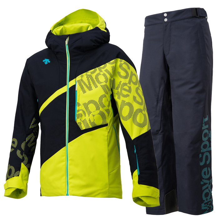 데상트 1819 남성 스키복DESCENTE S.I.O JACKET 60 MOVE SPORTS SNL+S.I.O PANTS 40 MOVE SPORTS SNY DWMMJK71/DWMMJD70