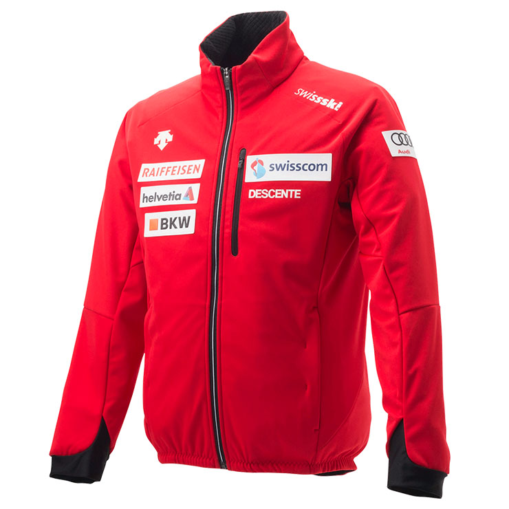 데상트 1819 스위스팀 미들러 상의DESCENTE S.I.O JETBARRIER JACKET SWISS REPLICA ERD DWUMJK62B