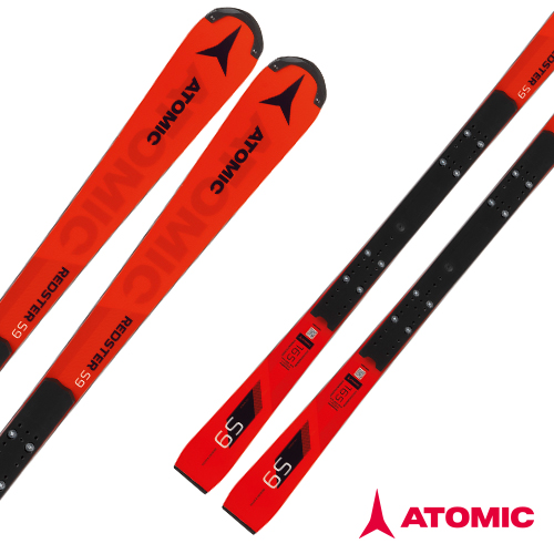 아토믹 1819 레드스터 스키 [회전스키] ATOMIC REDSTER S9 FIS M (R=12.5m) X 16 VAR Red/Black