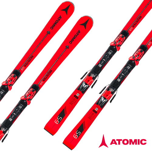 아토믹 1819 스키 플레이트ATOMIC REDSTER S9 Servotec X 14 TL-RS OME Red