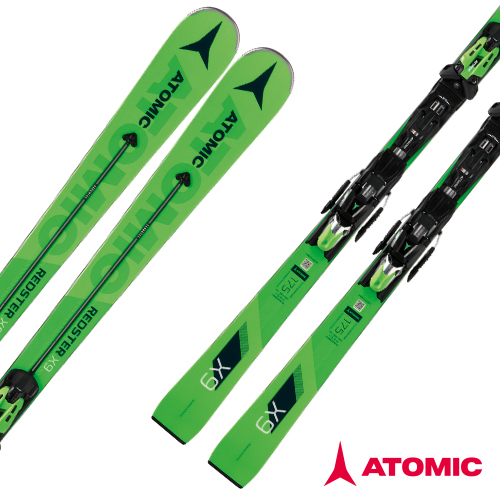 아토믹 1819 스키 플레이트ATOMIC REDSTER X9 Servotec X 14 TL RS OME Black/Green