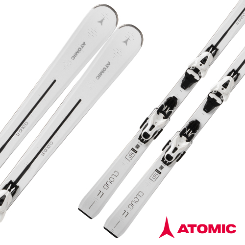 아토믹 1819 스키 플레이트ATOMIC CLOUD 11 White E FT 11 GW White/Black