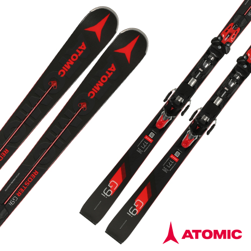 아토믹 1819 레드스터 스키 [대회전스키]ATOMIC REDSTER G9i Servotec (GS) X 14 TL RS OME Red
