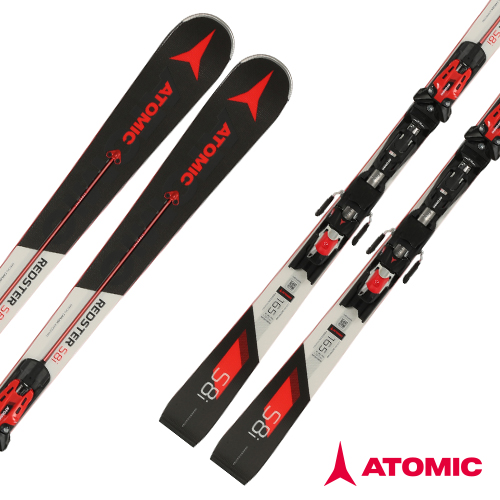 아토믹 1819 레드스터 스키 [회전스키] ATOMIC REDSTER S8i Servotec (SL) X 12 TL R OME Black/Red