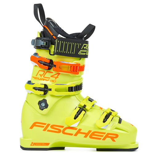 피셔 1819 스키 커브 부츠FISCHER RC4 CURV 130 VACUUM FULL FIT YELLOW/YELLOW