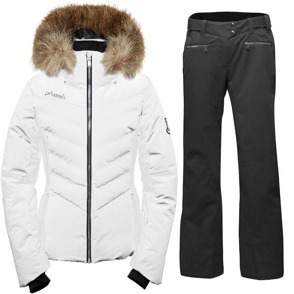 피닉스 1819 데모 여성 스키복Phenix Chloe Hybrid Down Jacket/Teine Slim Pants ES882OT58R+ES882OB61/OW1