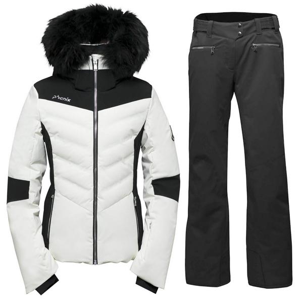 피닉스 1819 데모 여성 스키복Phenix Chloe Hybrid Down Jacket/Teine Slim Pants ES882OT58R+ES882OB61/OW2