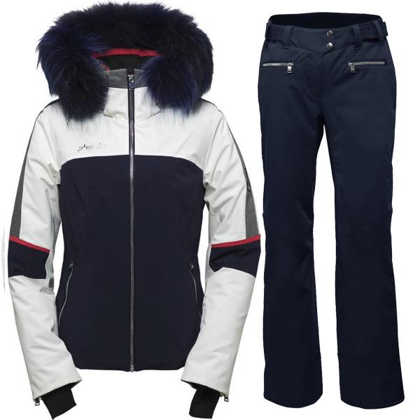 피닉스 1819 데모 여성 스키복Phenix Amanda Hybrid Down Jacket/Teine Slim Pants ES882OT59R+ES882OB61/DN