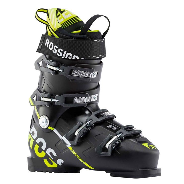 로시롤 1819 스키 부츠ROSSIGNOL SPEED 100 BLACK YELLOW