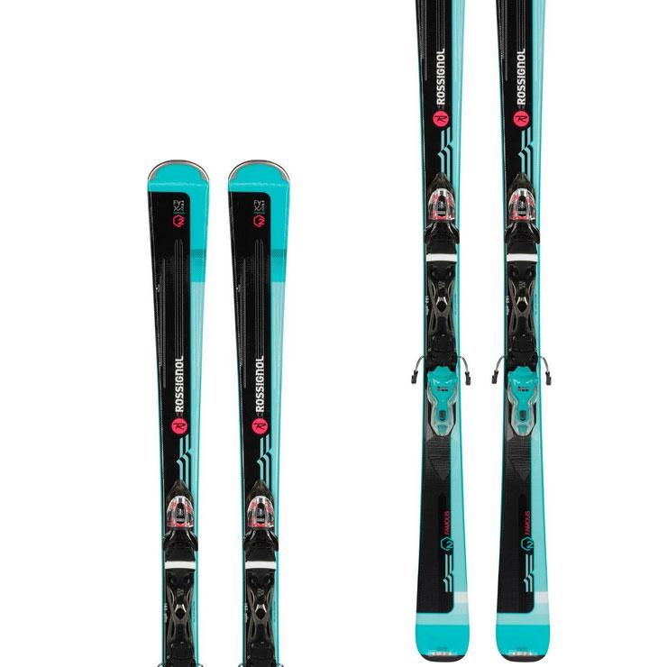 로시롤 1819 스키 여성 플레이트ROSSIGNOL FAMOUS 2 XPRESS W 10 B83 BLACK/BLUE