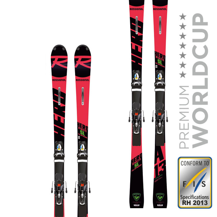 로시롤 1819 스키 플레이트ROSSIGNOL HERO ATHLETE FIS SL (R22) SPX 15 ROCKERFLEX BLACK/ICON