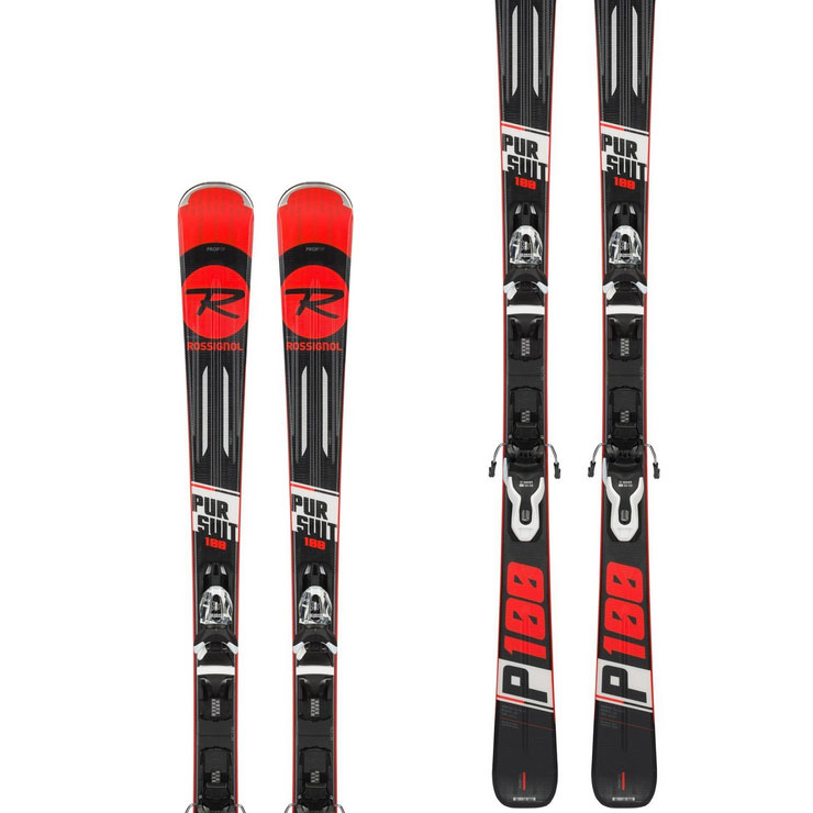 로시롤 1819 스키 플레이트ROSSIGNOL PURSUIT 100 XPRESS 10 B83 BLACK/WHITE
