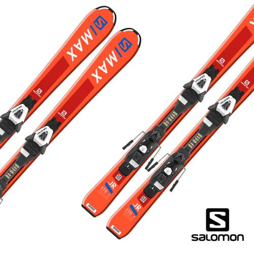 살로몬 1819 주니어 스키 플레이트SALOMON S/MAX JR S + C5