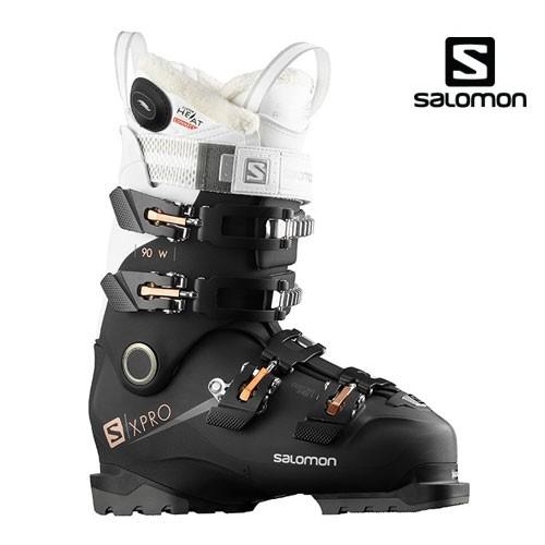 살로몬 1819 스키 여성 부츠SALOMON X PRO 90W Custom Heat Connect