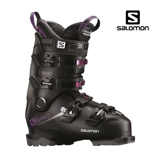 살로몬 1819 스키 여성 부츠SALOMON X PRO 100 W Black/Pr