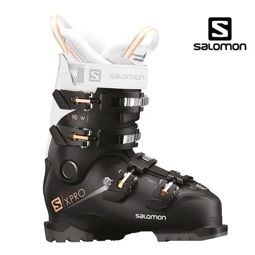 살로몬 1819 스키 여성 부츠SALOMON X PRO 90 W Bk/Wh/Corai