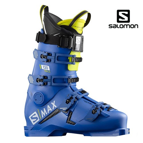 살로몬 1819 스키 부츠SALOMON S/MAX 130 RACE Raceblu