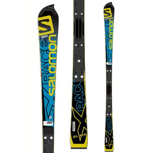 살로몬 스키 플레이트SALOMON X-RACE RACE SL LAB + X16 LAB 165