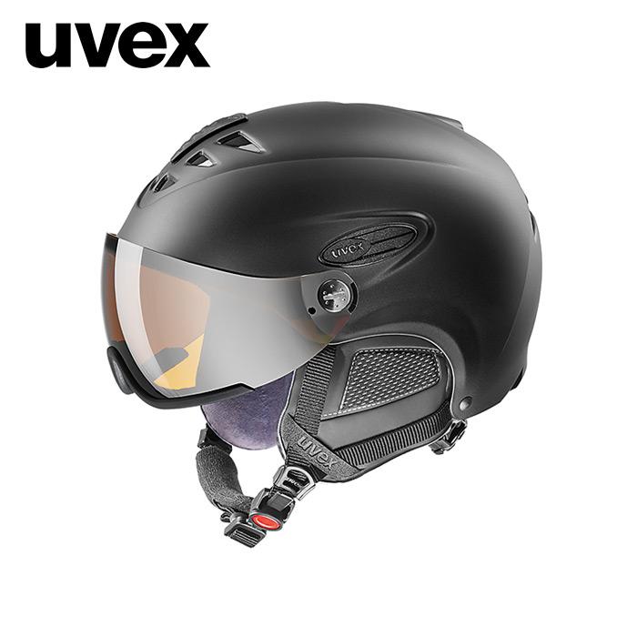 1819 우벡스 스키 바이저 헬멧uvex hlmt 300 visor black mat