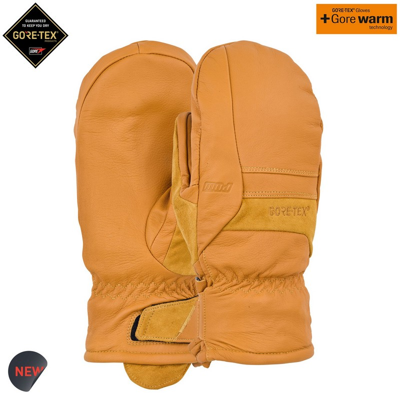 포우 1819 스노우 고어텍스 장갑POW Stealth GTX® Mitt + WARM Buckhorn Brown