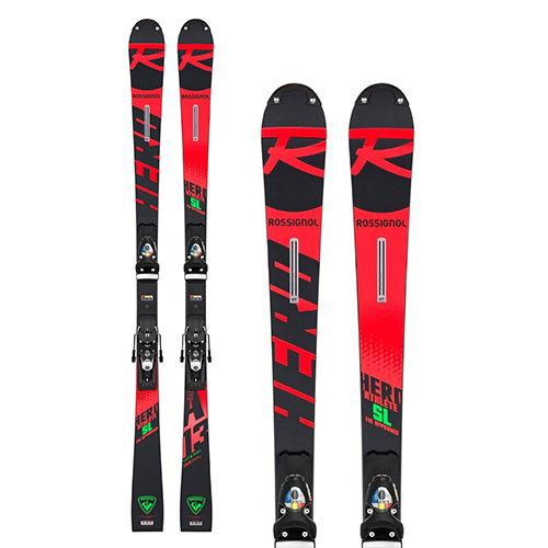 로시뇰 1920 레이스 스키ROSSIGNOL HERO ATHLETE FIS SL (R22) SPX 12 ROCKERACE BLACK/ICON