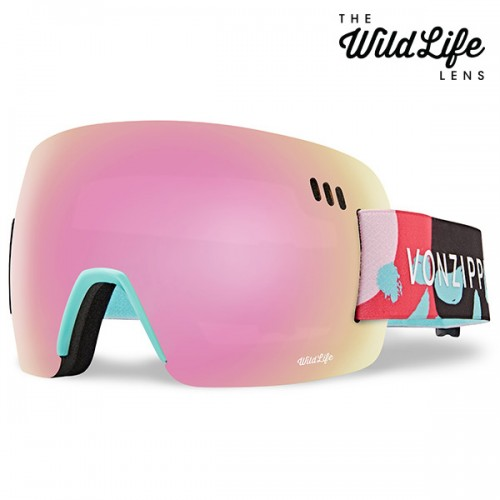 1920 본지퍼 ALT XM 스노우 고글 VONZIPPER ALT XM B4BC - MINT GLOSS_WILD PINK CHROME
