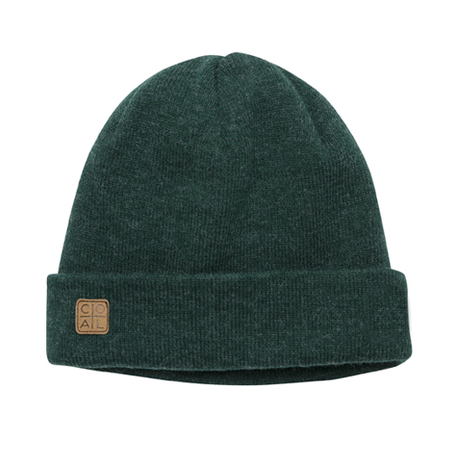 콜 1920 스노우 HEADWEAR COAL The Harbor Beanie Heather Forest Green