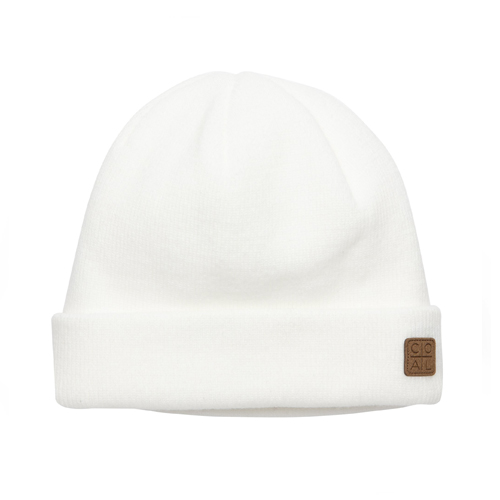 콜 1920 스노우 HEADWEAR COAL The Harbor Beanie White